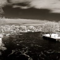 Pawtuxet River from the bridge