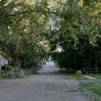 Osceola Avenue, behind our street