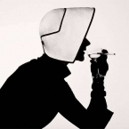 Woman in Dior Hat with Martini (Lisa Fonssagrives - Penn)