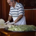 Chef at Ismet Baba preparing food