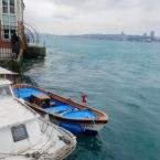 Kuzguncuk, boats on the Bosphorus - Photo by Jan