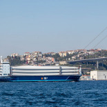 Bosphorus Carrier Ship Carrying Windmill Blades