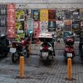 Motorcycles at Galatasaray