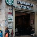 Starbucks is wide spread in Istanbul