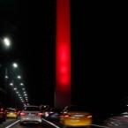 The Bosphorus Bridge at Night
