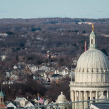 The RI State House Seen Over Waterplace 1