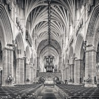 Exeter Nave Looking East