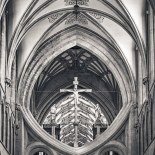 Wells Nave Scissor Arches