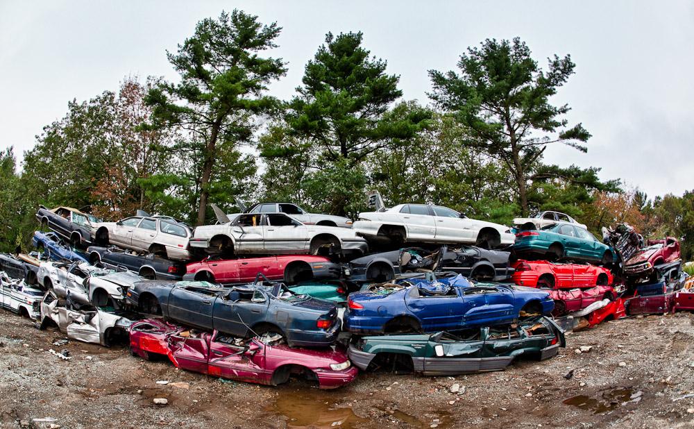 Junkyard photoshoot – Visit to a junk yard to produce