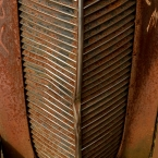 Old Studebaker grill