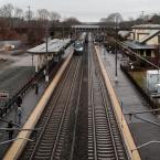 Regional Train, Kingston Rail Station, RI