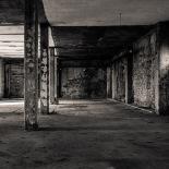 Hall Inside the Brick Building