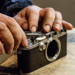Start taking apart the camera body