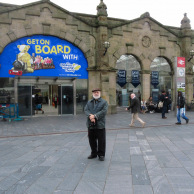 Sheffield Rail Station, Photograph by Jan Ekin