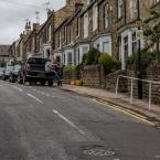 A side street in Sheffield