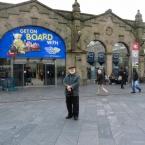 Sheffield Rail Station, Photograph by Jan Ekin