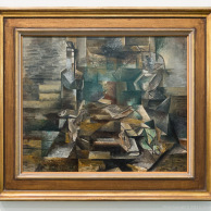 Bottle and Fishes, Georges Braque, Tate Modern