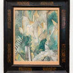 The Church of Carrieres-Saint-Denis, Georges Braque, Tate Modern
