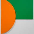 Orange Relief with Green, Ellsworth Kelly, Tate Modern
