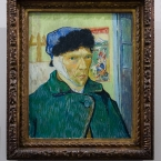 Self Portrait With a Banded Ear, Vincent Van Gogh, Courtauld Gallery