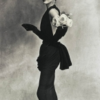 Irving Penn - Woman with Roses