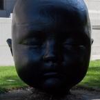 Night Baby head by A. L. Garcia
