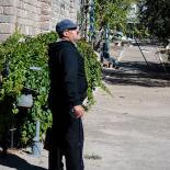 Mustafa is all around help, gardener to chauffeur