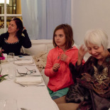 Mina's birthday dinner at Ayna (mirror)