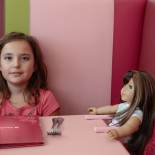 American Girl Cafeteria, Mina and Grace