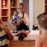 Hair Salon for the visiting American Girl Dolls