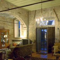 Restored house interior, Ayvalik