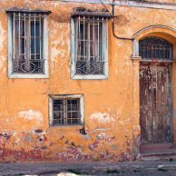 House facade, Ayvalik