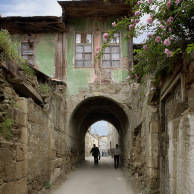 Old house with roses, Adana