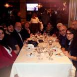 Dinner before the performance on Saturday