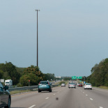 On Route 95 North
