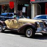 The fancy car
