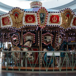 The carousel inside Warwick Mall
