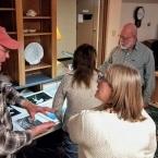 Examining Sample Prints