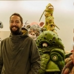 Inside the Big Nazo Intergalactic Creature Band studio
