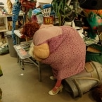 Anita Crackinstuff inside Big Nazo