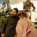 Evren with Anita Crackinstuff