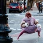 Anita Crackinstuff dancing