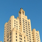 The Bank of America Building, a.k.a The Superman Building