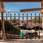 From the Balcony Looking Towards the Market