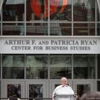 The college president Fr. Brian Shanley, O.P.