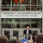The namesake of the building, Arthur Ryan