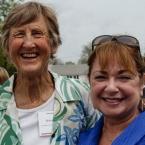 Friends, Dee Bird and Helen Caldwell