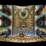 Panagia Isodion Ceiling Near Iconostasis
