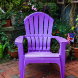 Purple throne?