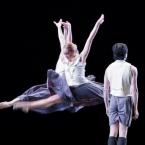 Jaime DeRocker, Kirsten Evans, Harunaga Yamakawa in Viktor Plotnikov's Sharps and Flats